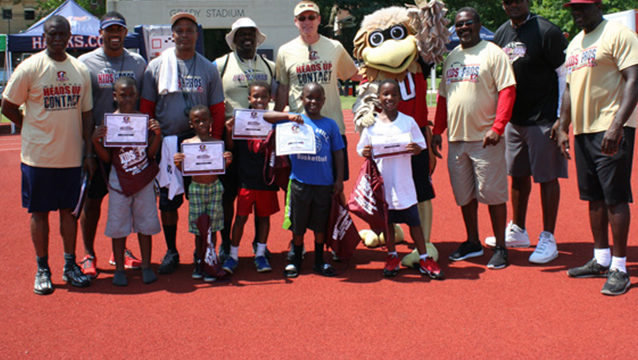 Former NFL Players Close Out Kids & Pros Camp EQUIP Week